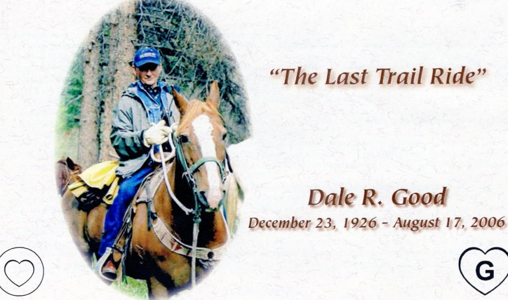 Tribute to Dale Good - Sheep Mesa Outfitters