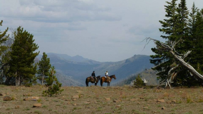 Day Ride Enjoying the Beautiful Scenery with Sheep Mesa Outfitters
