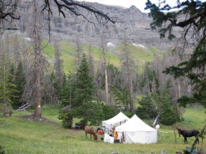 Sheep Mesa Outfitters Hunting Camp