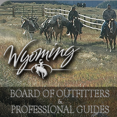 Wyoming Board of Outfitters & Professional Guides Logo